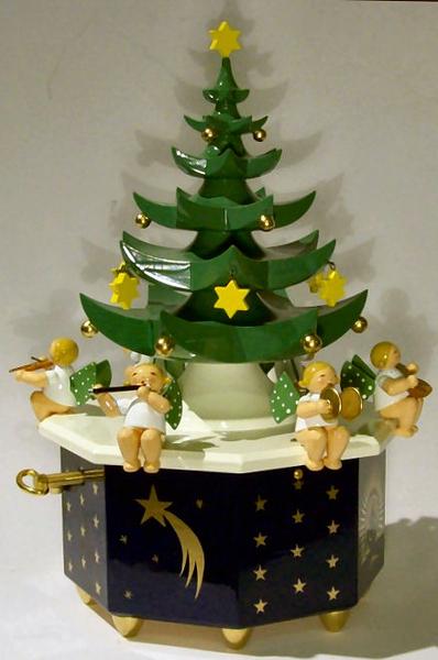 Wendt Und Kühn Weihnachtsbaum.Wendt Und Kühn Spieluhr Tannenbaum Am Weihnachtsbaume
