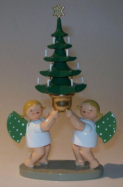 Wendt Und Kühn Weihnachtsbaum.Wendt Und Kühn Engelgruppe Mit Baum